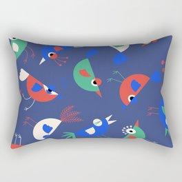 Geometric Birdies Rectangular Pillow