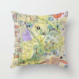 Colgate University Throw Pillow