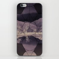 sacred geometry iPhone & iPod Skins featuring Sacred by Jemma Pope