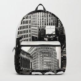 Boston, Massachusetts City Skyline Backpack