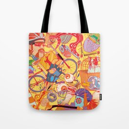 Explosion Tote Bag