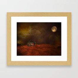 Catscape 4:  Framed Art Print