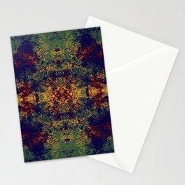 Colorful Abstract Decorative Boho Chic Style Mandala Art - Kodona Stationery Cards