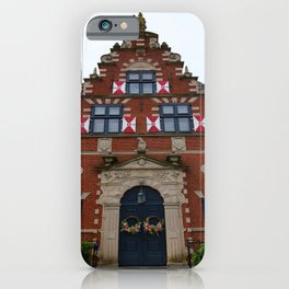 Zwaanendael Museum iPhone Case