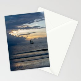 Sailing out of the Storm Stationery Cards