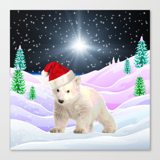 Save My Home | Christmas Spirit Canvas Print