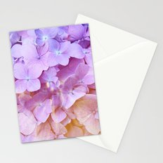 Multicolor beautiful Hydrangea petals - Flowers - Buds - Blossoms Stationery Cards