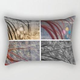Winter Tulips Rectangular Pillow