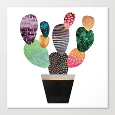 Pretty Cactus Canvas Print
