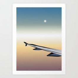 Airplane Views #1 Art Print