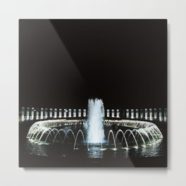 Waterworks Metal Print