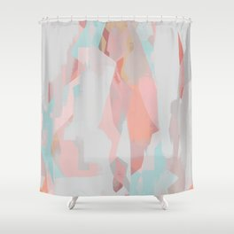 Abstract Painting No. 18 Shower Curtain
