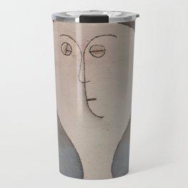Paul Klee - Fright of a Girl Travel Mug