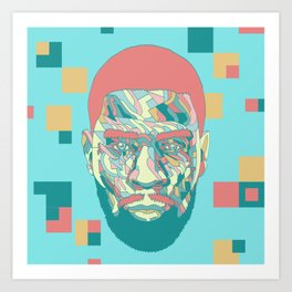 Scott Mescudi Art Print
