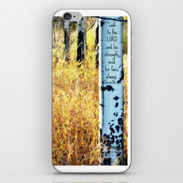 Look to the LORD iPhone Skin