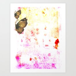 butterfly's breathe Art Print