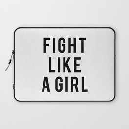 Fight Like A Girl Laptop Sleeve