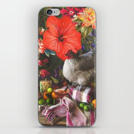Still Life with Fat Chicken iPhone Skin