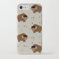 buffalo iPhone & iPod Cases featuring Buffalo by Heleen van Buul