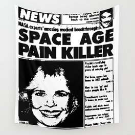 SPACE AGE PAIN KILLER (2016) Wall Tapestry