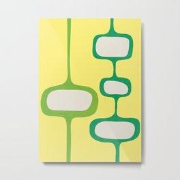 Mid-Century Modern Abstract Art 19 Metal Print