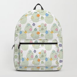 Birds on a crooked line Backpack