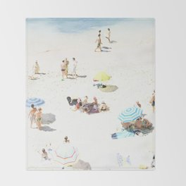 beach XXI Throw Blanket