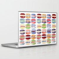 macaron Laptop & iPad Skins featuring Macaron by Marta Li