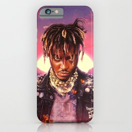 Juice WRLD Posters, Juice World Posters, Variety of Album Covers, Hip Hop Art, Print Art Poster, Wall Decor, Wall Hanging iPhone Case