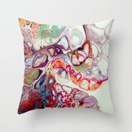 Abstract 12 Throw Pillow