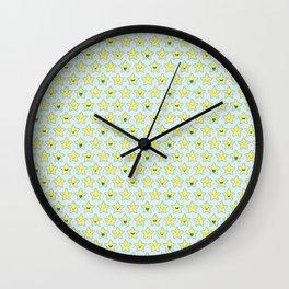 Cute Little Stars Wall Clock