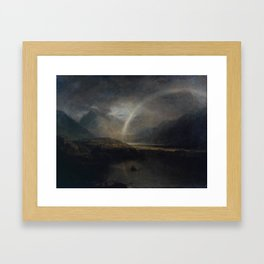 Joseph Mallord William Turner 1775–1851   Buttermere Lake, with Part of Cromackwater, Cumberland, a Framed Art Print