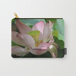 Lotus Going to Seed Carry-All Pouch