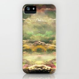 Head in the Clouds by Debbie Porter - Designs of an Eclectique Heart iPhone Case
