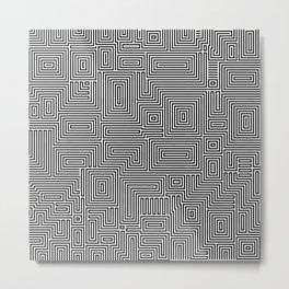Eye Bind Metal Print