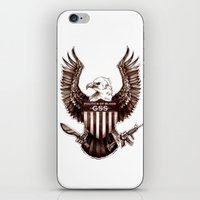 politics iPhone & iPod Skins featuring Politics of Blood by Gray Spear Society