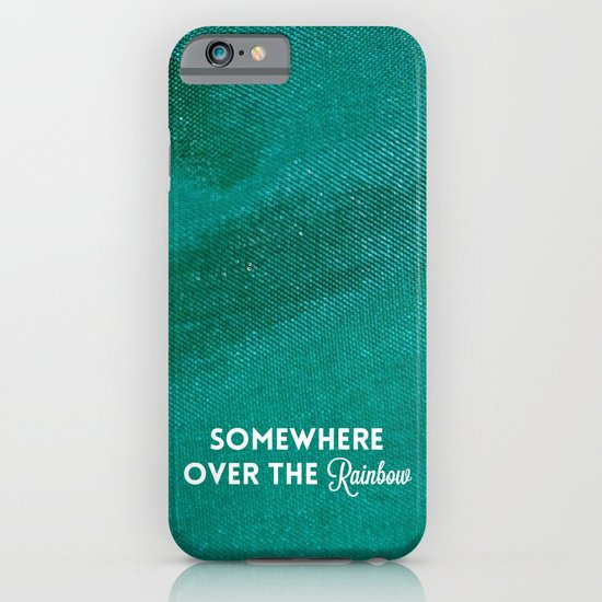 Somewhere Over The Rainbow iPhone & iPod Case