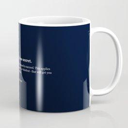 The road to success Coffee Mug