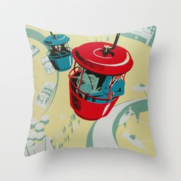 Skyway Throw Pillow