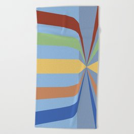 The Rainbow Room Beach Towel