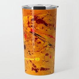 Abstract #2 - Embers Travel Mug
