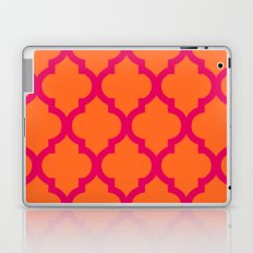 Moroccan Orange & Pink Laptop & iPad Skin