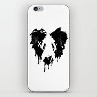 castlevania iPhone & iPod Skins featuring I LOVE Castlevania by Marcos Raya Delgado