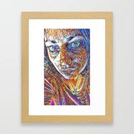 Diaphaneity Framed Art Print
