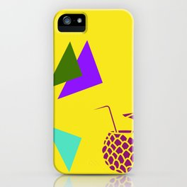 Insert Piña Colada here - Yellow iPhone Case