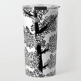 Tree sketch Travel Mug