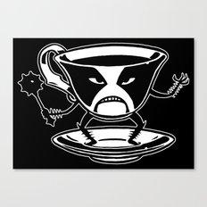 Black tea Canvas Print