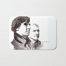 Sherlock and Watson Bath Mat