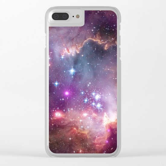 Under the Wing of the Small Magellanic Cloud Clear iPhone Case