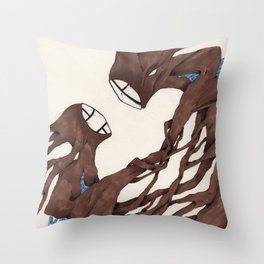 Personal Demon Self Doubt Throw Pillow